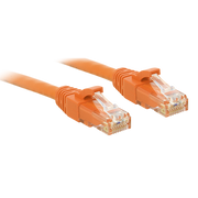 Lindy RJ-45 Cat6 U/UTP 2 m networking cable Orange U/UTP (UTP)