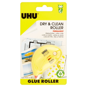 UHU Dry & Clean Roller correction tape 8.5 m Yellow 1 pc(s)