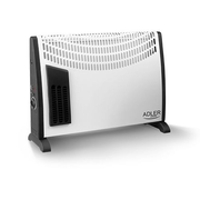 Adler AD 7705 Indoor Grey, White 2000 W Fan electric space heater