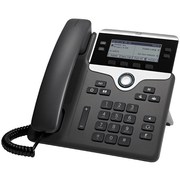 Cisco 7841 IP phone Black, Silver Wired handset 4 lines LCD