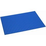 Hubelino 420329 building toy accessory Base plate Blue