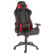 LC-Power LC-GC-1 video game chair PC gaming chair Black, Red