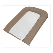 Candide 153260 changing mat Cotton, Polyester Brown, White Flat