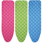 LEIFHEIT Cotton Comfort S/M Ironing board padded top cover Blue, Green, Pink