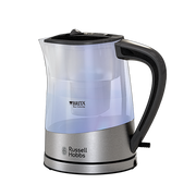Russell Hobbs Purity electric kettle 1 L 2200 W Black, Silver, Transparent
