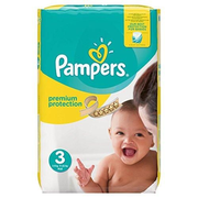 Pampers Premium Protection Boy/Girl 3 204 pc(s)