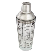 Hama 111550 cocktail shaker 0.4 L Glass, Stainless steel