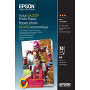 Epson Value Glossy Photo Paper - A4 - 50 sheets