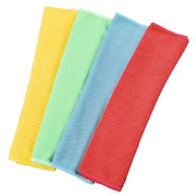 Hama 00111391 cleaning cloth Microfibre Blue, Green, Red, Yellow 4 pc(s)