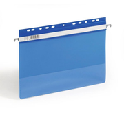 Durable 2561-06 hanging folder A4 Plastic Blue, Transparent 1 pc(s)