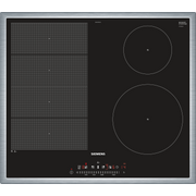 Siemens EX645FEC1E hob Black, Stainless steel Built-in Zone induction hob 4 zone(s)