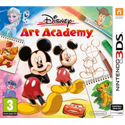 Nintendo Disney Art Academy Basic English Nintendo 3DS