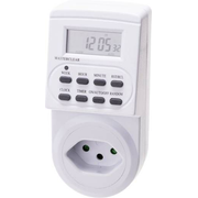 Max Hauri AG 128777 electrical timer White Daily/Weekly timer