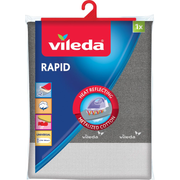 Vileda Rapid Ironing board top cover Cotton Grey