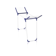 LEIFHEIT Pegasus 120 Solid Compact Floor-standing rack Blue, White