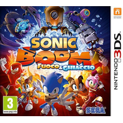 Nintendo Sonic Boom: Fire & Ice, 3DS Basic English Nintendo 3DS