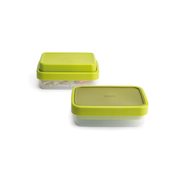 Joseph Joseph GoEat Lunch Box Lunch container 1.2 L Silicone Green, Transparent