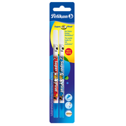 Pelican Super-Pirat eraser Plastic Multicolour 2 pc(s)