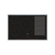 Siemens EX845LVC1E hob Black, Stainless steel Built-in Zone induction hob 5 zone(s)