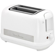 Moulinex LT162111 toaster 2 slice(s) 850 W Stainless steel, White