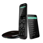 Logitech Harmony Elite remote control Audio, Cable, DVR, Game console, Home cinema system, PC, Smartphone, TV, Tablet Touch Screen