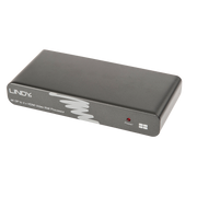 Lindy 38418 video signal converter 7680 x 2160 pixels