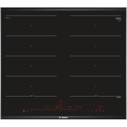 Bosch PXX675DC1E hob Black, Stainless steel Built-in Zone induction hob 4 zone(s)