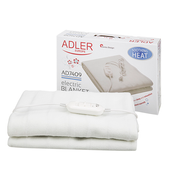 Adler AD 7409 Electric blanket 60 W White