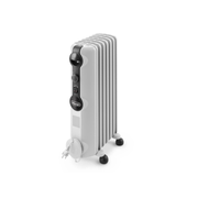 DeLonghi TRRS 0715 electric space heater Indoor White 1500 W Radiator