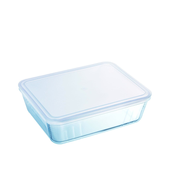 Pyrex 3137610000728 dining plate Rectangular Glass Transparent 1 pc(s)