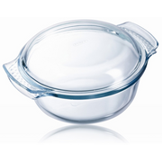 Pyrex 5010762002230 dining plate Round Tempered glass Transparent 1 pc(s)