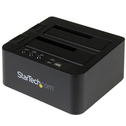 "StarTech.com USB 3.1 (10Gbps) Standalone Duplicator Dock for 2.5"" & 3.5"" SATA SSD/HDD Drives - with Fast-Speed Duplication up to 28GB/min"