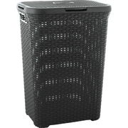Curver Style 3253920707031 laundry basket 60 L Square Rattan Anthracite