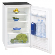 Exquisit EKS145-11RVA+ fridge Built-in 124 L White
