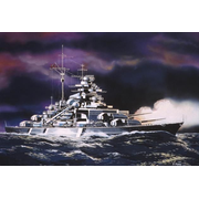 Revell Bismarck 1:1200 Naval ship Assembly kit
