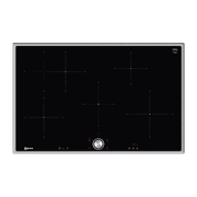 Neff T48BT00N0 hob Black, Stainless steel Built-in Zone induction hob 4 zone(s)