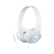 JVC HA-SR225-W-E Lightweight headphones with superior sound with remote and mic