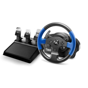 Thrustmaster T150 PRO ForceFeedback Black, Blue USB Steering wheel + Pedals PC, PlayStation 4, Playstation 3