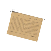 Herlitz 5874458 hanging folder A4 Cardboard Brown 5 pc(s)