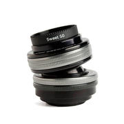Lensbaby Composer Pro II with Sweet 50 Optic SLR Black, Silver