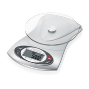 Medisana KS 220 Stainless steel Countertop Rectangle Electronic kitchen scale