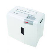 HSM X5 paper shredder Particle-cut shredding 58 dB 22 cm Silver, White