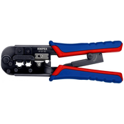 Knipex 97 51 10 Crimping tool Black, Blue, Red