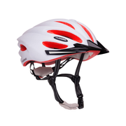 HUDORA 84158, Half shell, City bike helmet, In-mold, Expanded polystyrene (EPS), Multicolour, Monotone