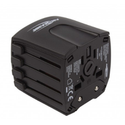 Ansmann All in One 2 power plug adapter Type G (UK) Universal Black