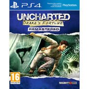 Sony Uncharted: Drake's Fortune Remastered, PS4 Basic PlayStation 4