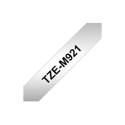 Brother TZe-M921 label-making tape Black on metallic