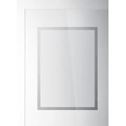 Durable 484223 magnetic frame A3 Silver