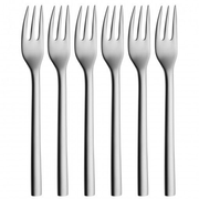 WMF Nuova Cake fork Stainless steel 6 pc(s)