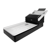 Avision AD250F Flatbed & ADF scanner A4 Black, White